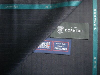 """DORMEUIL 100% SUPERFINE WOOL SUITING """"HARMONY"""" FABRIC - MADE IN ENGLAND - 3.4 m."""