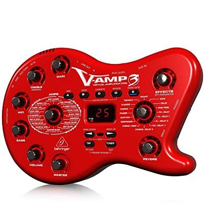 Behringer VAMP3 Next-Generation Virtual Guitar Amplifier W/ USB Audio Interface