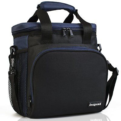 Insulated Lunch Bag S2: InsigniaX Unisex Adult Lunch Box For Work Men Women B...