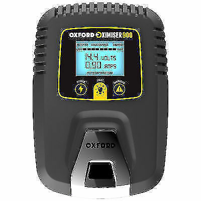 Oxford Motorcycle Bike Oximiser 900 Battery Trickle Charger Management System