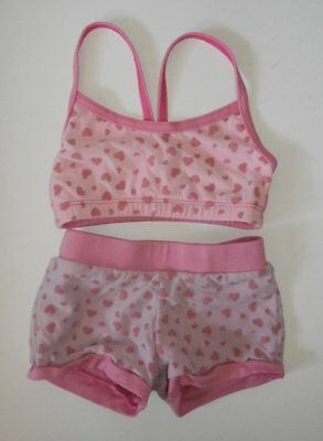 Youth Dance Set by Motion Wear ~ Top & Shorts ~ Jazz & More ~ 6X/7