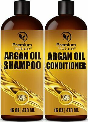 Art Naturals Organic Argan Oil Hair Loss Shampoo for Hair Regrowth 16 oz - Sulfa
