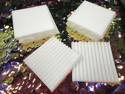 "Wedge foam acoustic - ivory Studios Sound Absorption Wall  1""X 12""X 12"" 12 Pack"