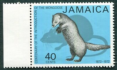 JAMAICA 1973 40c SG366 mint MNH FG Mongoose Introduction Centenary #W52