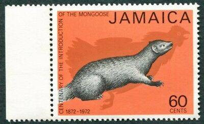 JAMAICA 1973 60c SG367 mint MNH FG Mongoose Introduction Centenary #W52