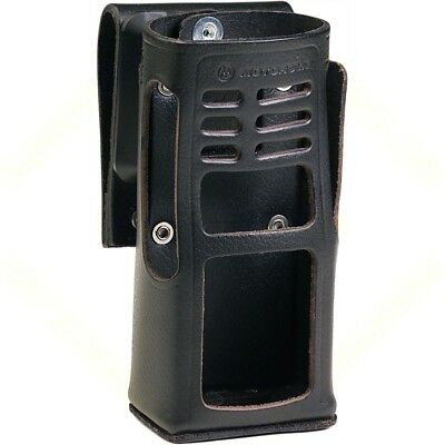 Motorola Leather Carry Case with Swivel for HT750, HT1250 Radios (HLN9694)