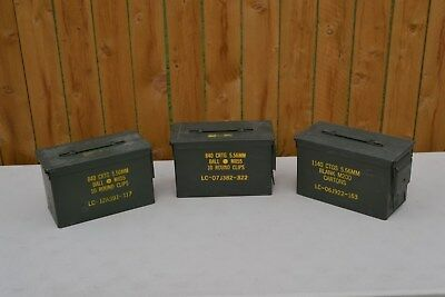 Ammo Can, .50cal / 5.56mm M2A1, US Military Surplus