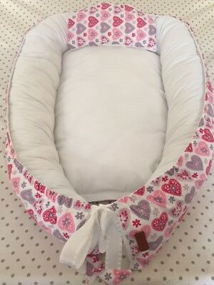 Baby Nest, Double-sided baby nest for new born baby, Sleep Bad, Cot.