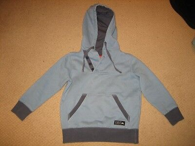 Authentic Quiksilver Childrens Hooded Hoodie Jumper Preowned Size 4 Kids