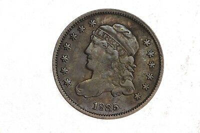1835 Capped Bust Half Dime H10C 5C XF Extra Fine Original Silver Coin RARE!! 4D8