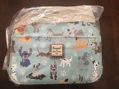 NWT Disney Dogs Dooney and Bourke Ambler Crossbody Purse Bag Stitch SOLD OUT