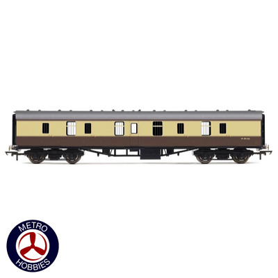 Hornby OO BR Mk1 Parcels Coach Chocolate/Cream HOR-R4626 Brand New