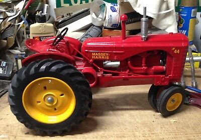 150th Anniversary Massey Harris 44 Metal Toy Tractor 1997 Factory Dealer Meeting