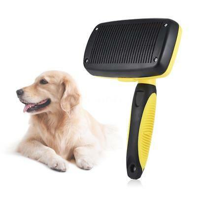 Pet Self Cleaning Brush Grooming Tools pour chats Chiens fourrure Q4X2