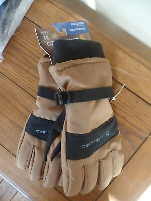 New Carhartt A511 WP Insulated Gloves. LG