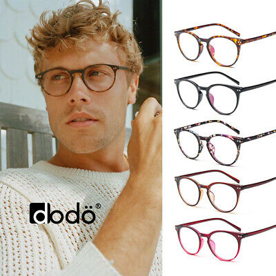 e1037dd7780 Stylish Retro Vintage Round Circle Keyhole Clear Lens Glasses Frame Nerd  Geek