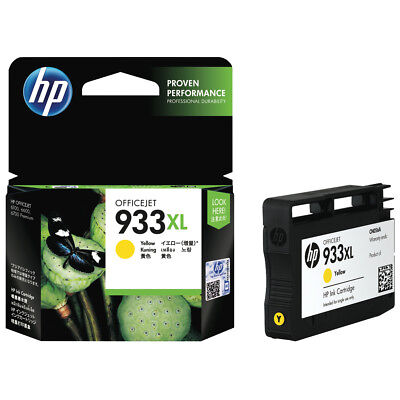 Hp Officejet 933Xl Yellow Ink Cartridge (Cn056Aa) Genuine Hp Page Yield 825