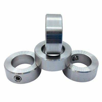 """4Pcs 1-3/16"""" Bore Stainless Steel Shaft Collars Set Screw Style"""