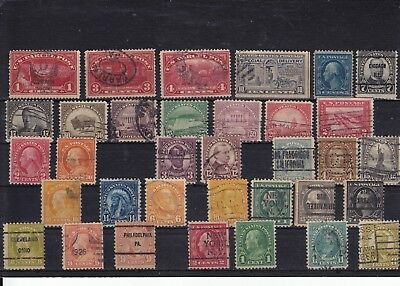 Usa - Selection Of Used Stamps