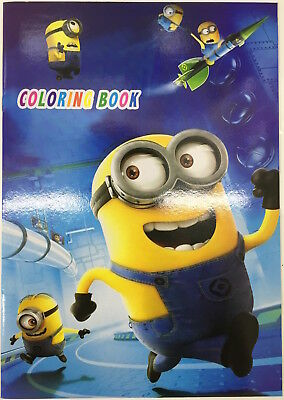 1 x Despicable Me Colouring Book 16 pages with 2 pages Stickers