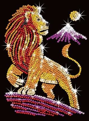 Tableau Sequin Art Lion - Sequin Art