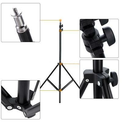 2m/6.6ft Collapsible Light Stand Tripod for Photo Studio Video Lighting Kit Y7H0