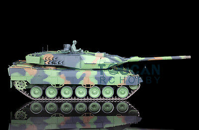 2.4Ghz HengLong 1/16 Scale Upgraded Metal Ver German Leopard2A6 RC RTR Tank 3889