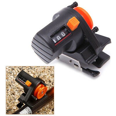 0-999M Portable Fishing Finder Line Length Depth Gauge Counter Tool Tackle New