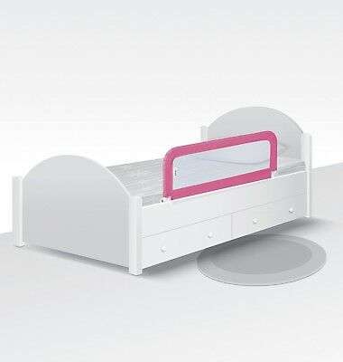 Safety 1st Portable Safety Bed Rail Guard Baby Prevent Rolling Toddler - Pink