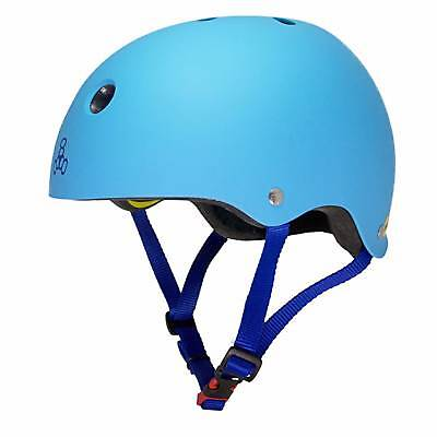 Triple 8 Brainsaver Mips Casco - HYPER Blu