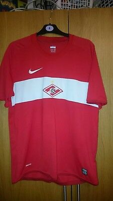 Spartak Moscow Football Shirt Large