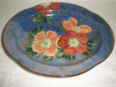 Vintage ROYAL DOULTON England WILD ROSE TRAY D6227 Very Good Condition