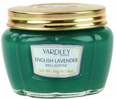 Yardley London English Lavender Hair Brilliantine Pomade 80g 1 2 3 6 12 Packs