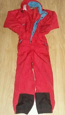 Kids ski suit aged 8 years wannabee by gosport red