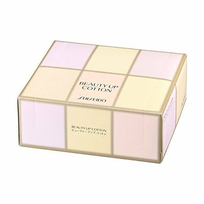 Shiseido Beauty up cotton 108 sheets faicial makeup Shipping from Japan