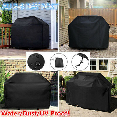 BBQ Grill Cover 2/4/6 Burner Waterproof Outdoor UV Charcoal Barbecue Protector