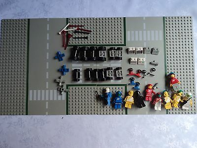 Vintage 1980's Lego Space figurines and accessories - Mixed lot