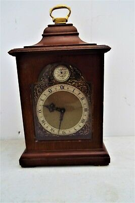 Walnut Bracket Clock by Astral of Coventry