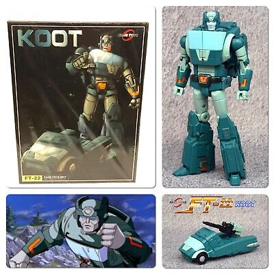 FANS TOYS Transformers Masterpiece FT-22 KOOT (Kup) G1 MP FansToys