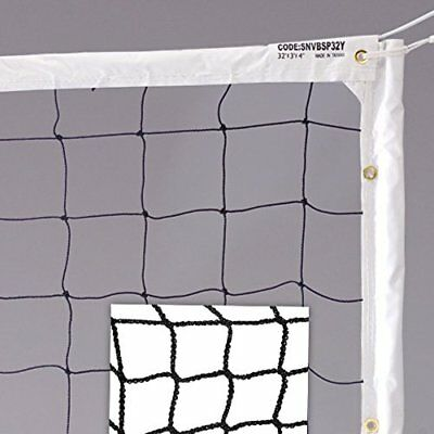 Volleyball Net Professional Heavy Duty Outdoor Play  2.5mm Thick Polyethylene