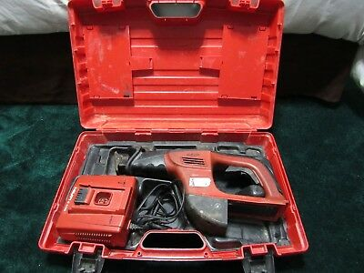 Hilti WSR 36-A Cordless Reciprocating Saw 36V/Case/Charger Tested