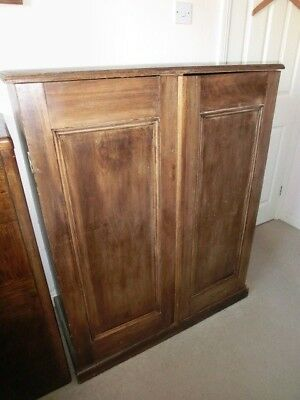 **Victorian?, Antique, Vintage Pine Wood Laundry  Cupboard, Cabinet**