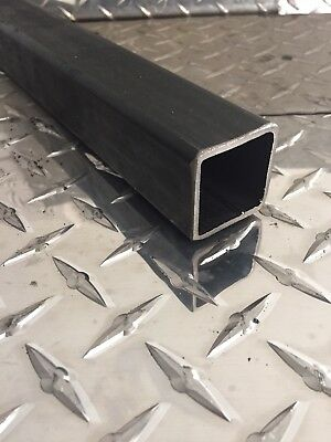 "1-1/2"" x 1-1/2"" x 11 Gauge Hot Rolled Steel Square Tubing x 12"" Long"