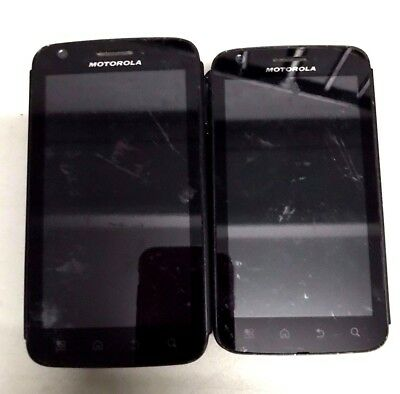 5 Lot Motorola ATRIX 4G MB860 GSM Android For Parts Repair Used Wholesale As Is