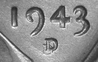 """1943-D/D RPM # 1 """"STEEL"""" Lincoln Cent - The """"KING"""" of all Wheat Cent RPM's - BU"""