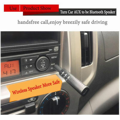 3.5mm Car Wireless AUX Bluetooth Receiver Adapter Phone To Stereo Audio Music