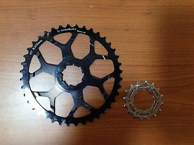 kit conversion Cassette ABSOLUTE  Black 11-40 t Shimano 10 V