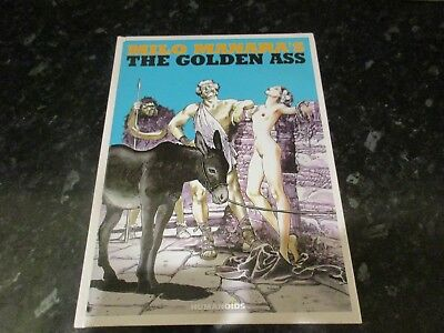 milo manara hardback Graphic Novel the golden ass humanoids uncensored edition