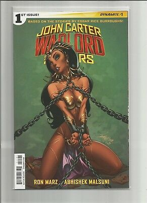 John Carter Warlord of Mars #1 J Scott Campbell Variant 2 COVER SET Free Ship