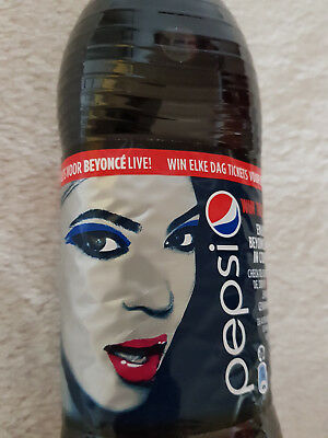 "pepsi Cola mit ""Beyonce"" Cover - 0,5 l Flasche aus Holland - MHD 9/2013"